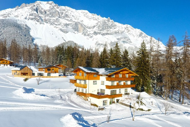 Apartmenthaus Alpenperle Winter